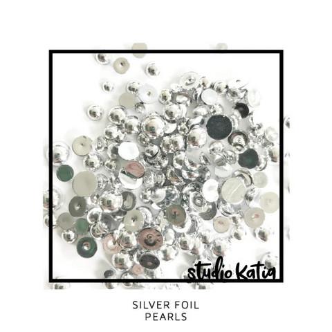 Studio Katia - Pearls, Silver Foil