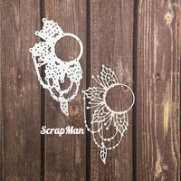 The Scrapman - Flower Frame 3, Stanssi
