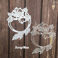 The Scrapman - Flower Frame 5, Stanssi