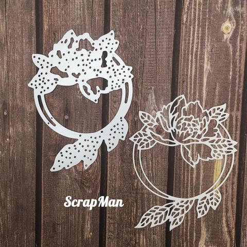 The Scrapman - Flower Frame 5, Stanssi