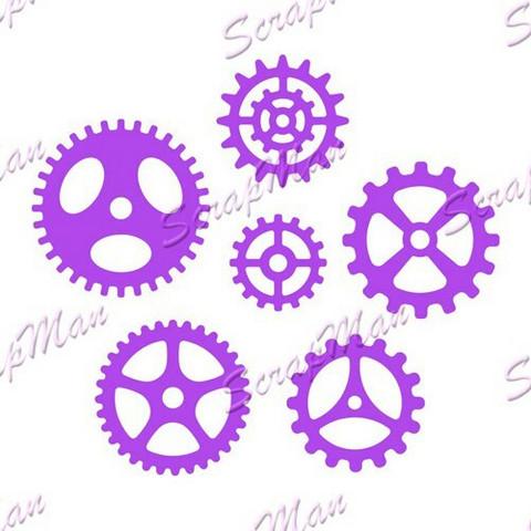 The Scrapman - Set Gears, Stanssisetti