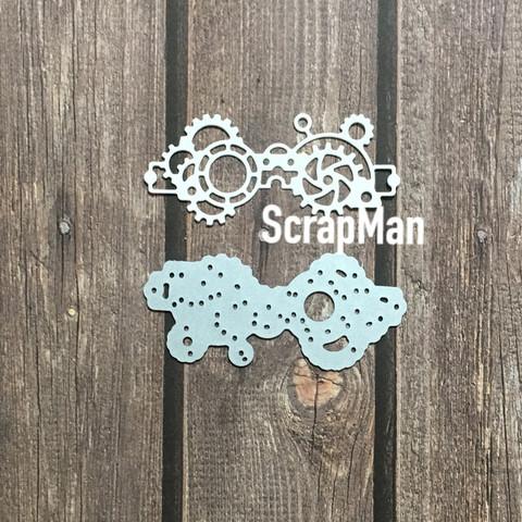 The Scrapman - Steampunk Glasses, Stanssi