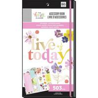 Mambi - Pressed Florals, Happy Planner Accessory Book