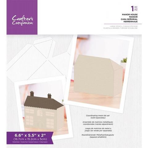 Crafter's Companion - Manor House Templates, Sapluuna