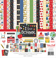 Echo Park - I Love School, Collection Kit 12