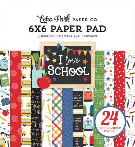 Echo Park - I Love School, Paper Pad 6