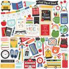 Echo Park - I Love School Element Sticker 12