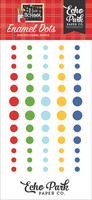 Echo Park - I Love School, Enamel Dots, 60 kpl