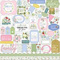 Carta Bella - Flora No. 4, Element Sticker 12