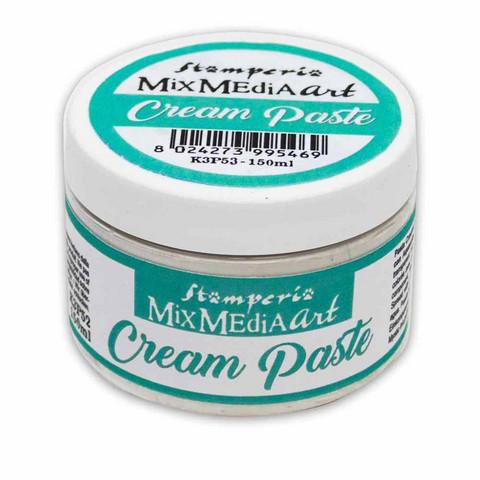 Stamperia - Cream Paste, White, 150ml
