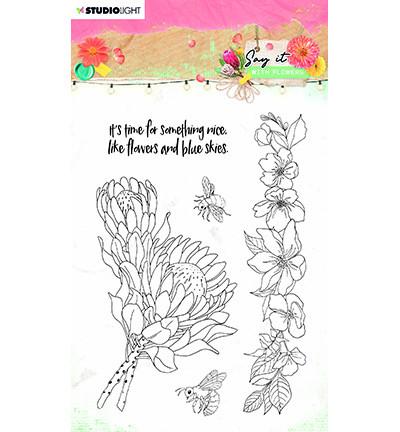 Studio Light - Say It With Flowers nr.524, Leimasetti