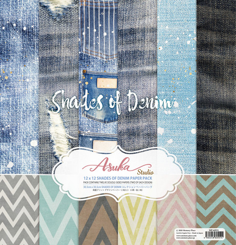 Memory Place - Shades of Denim 12