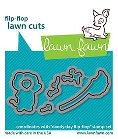 Lawn Fawn - Dandy Day Flip-flop, Stanssisetti