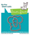 Lawn Fawn - I Love You(calyptus) Flip-flop, Stanssisetti
