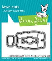 Lawn Fawn - Germ-free Bear, Stanssisetti