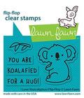 Lawn Fawn - I Love You(calyptus) Flip-flop, Leimasetti