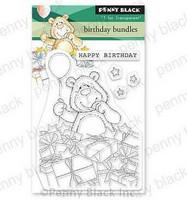 Penny Black - Birthday Bundles, Leimasetti