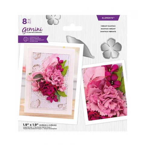 Gemini - Elements Dies, Stanssisetti, Vibrant Dianthus