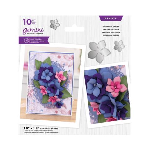 Gemini - Elements Dies, Stanssisetti, Hydrangea Garden