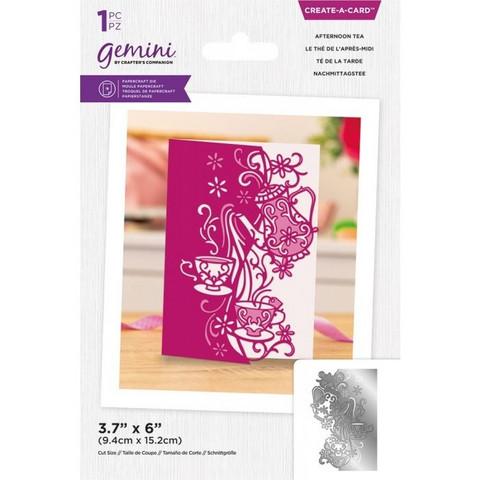 Gemini - Create-a-Card Dies, Stanssi, Afternoon Tea