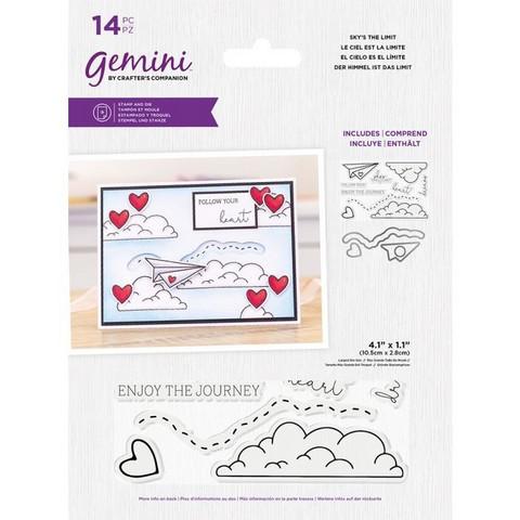 Gemini - Stamp & Die, Sky's The Limit, Stanssi- ja leimasetti