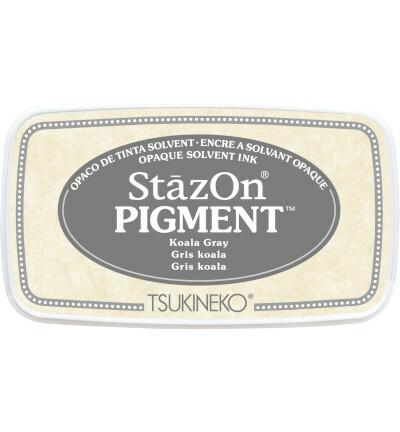 Tsukineko - StazOn Pigment, Leimamuste, Koala Gray