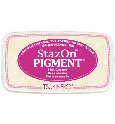 Tsukineko - StazOn Pigment, Leimamuste, Pink Cosmos