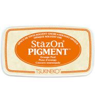 Tsukineko - StazOn Pigment, Leimamuste, Orange Peel