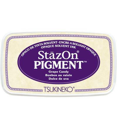Tsukineko - StazOn Pigment, Leimamuste, Grape Candy