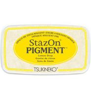 Tsukineko - StazOn Pigment, Leimamuste, Lemon Drop