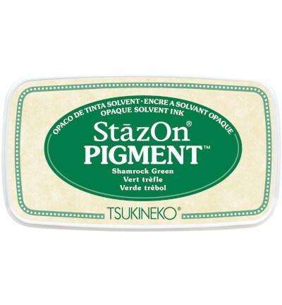 Tsukineko - StazOn Pigment, Leimamuste, Shamrock Green