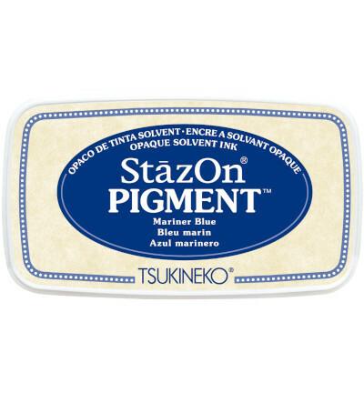 Tsukineko - StazOn Pigment, Leimamuste, Mariner Blue