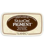 Tsukineko - StazOn Pigment, Leimamuste, Chocolate Brown