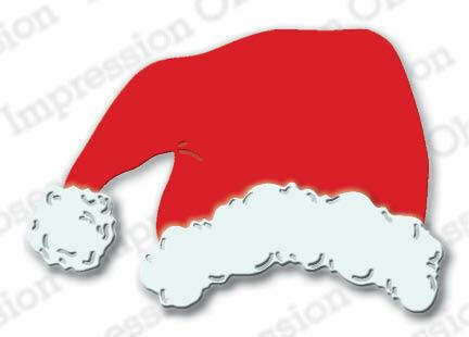 Impression Obsession - Santa Hat, Stanssisetti