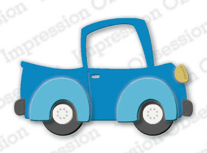 Impression Obsession - Cute Truck, Stanssisetti