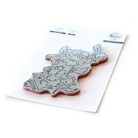 Pinkfresh Studio - Cling Rubber Stamp, Joyful Peonies, Leima
