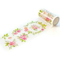 Pinkfresh Studio - Washi Tape, 100mmx10m, English Garden