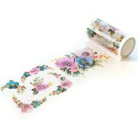 Pinkfresh Studio - Washi Tape, 100mmx10m, Anemone Magic