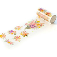 Pinkfresh Studio - Washi Tape, 100mmx10m, Joyful Bouquet