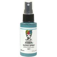 Dina Wakley - Media Gloss Spray, Sky, 56ml