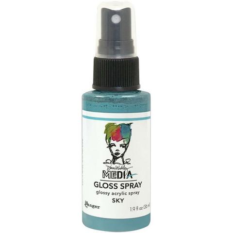 Dina Wakley Media - Gloss Spray, Sky, 56ml