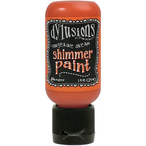 Dylusions - Shimmer Acrylic Paint, Tangerine Dream, 29ml