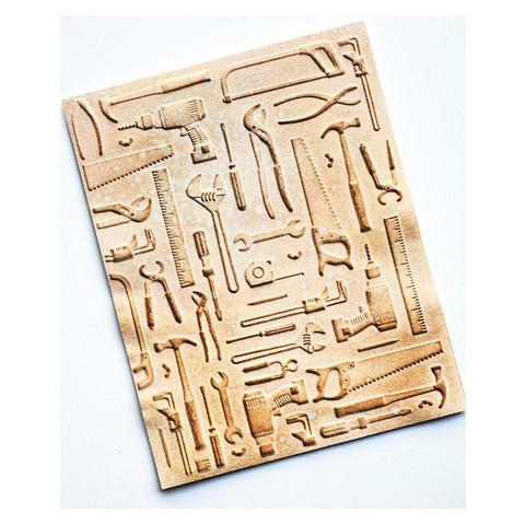 Memory Box - 3D Embossing Folder, Kohokuviointitasku, Toolshed