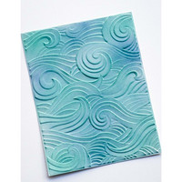 Memory Box - 3D Embossing Folder, Kohokuviointitasku, Waves