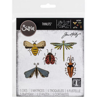 Sizzix - Thinlits Dies By Tim Holtz, Stanssisetti, Funky Insects