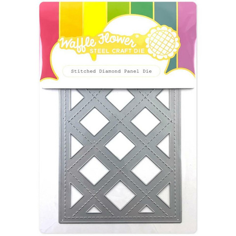 Waffle Flower - Stitched Diamond Panel, Stanssi