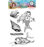 Studio Light - Art By Marlene, So-Fish-Ticated, Mermaids Nr.14, Leimasetti