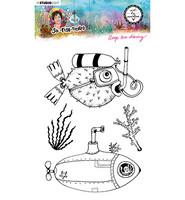 Studio Light - Art By Marlene, So-Fish-Ticated, Deep Sea Diving Nr.12, Leimasetti