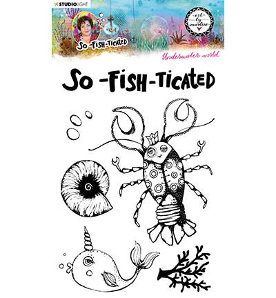 Studio Light - Art By Marlene, So-Fish-Ticated, Underwater World Nr.10, Leimasetti