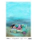 Studio Light - Art By Marlene, So-Fish-Ticated, Rice Paper Nr.14, Deep Sleep